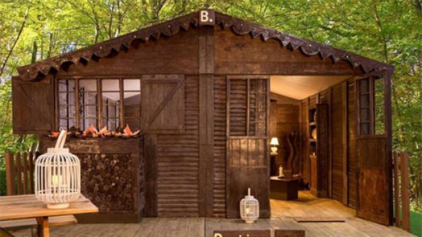 Ngôi nhà dành cho 4 người xây hoàn toàn bằng chocolate