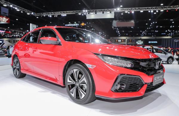 Honda Civic hatchback Red tại Bangkok Motor Show 2018. Ảnh: Tuấn Cao.