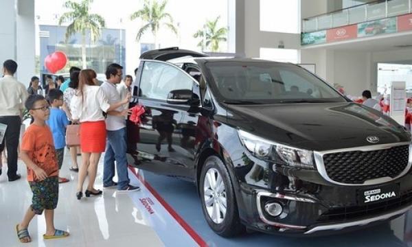 Người Việt tăng mua ôtô trở lại đầu 2018