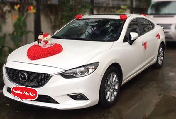 Thuê xe hoa Mazda 6 Biên Hòa