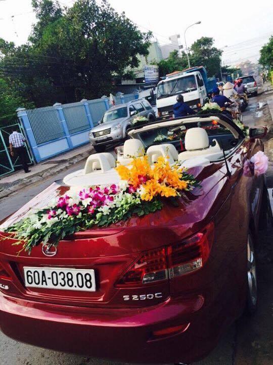 Xe hoa Lexus Mui Trần Biên Hòa