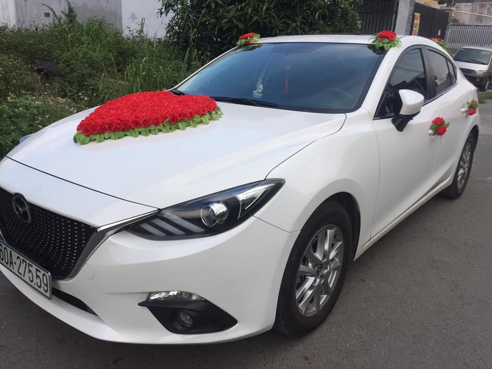 Thuê xe hoa Mazda 3 ở Biên Hòa