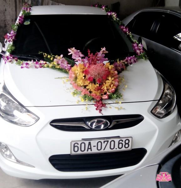 Xe hoa trắng Hyundai Biên Hòa